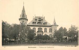 AK / Ansichtskarte Aubusson_Creuse Chateau de Chabassiere Aubusson Creuse