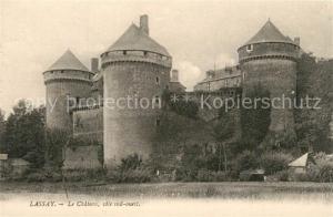 AK / Ansichtskarte Lassay les Chateaux Le Chateau cote sud ouest Lassay les Chateaux