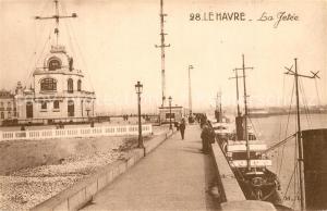 AK / Ansichtskarte Le_Havre La Jetee Le_Havre