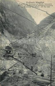 AK / Ansichtskarte Waeggithal Kraftwerk Waeggithal