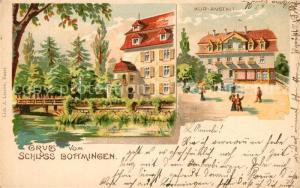 AK / Ansichtskarte Bottmingen Kuranstalt Schloss Bottmingen