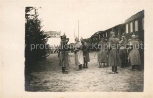 AK / Ansichtskarte Kamien_Koszyrski Abfahrt Koenig von Bayern Kamien Koszyrski
