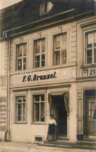 AK / Ansichtskarte Crossen_Oder F G Brunzel Geschaeftshaus Crossen Oder