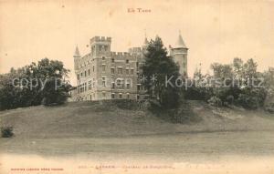 AK / Ansichtskarte Lavaur_Tarn Chateau de Jonquiere Schloss Lavaur Tarn