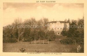AK / Ansichtskarte Realmont Chateau de Fregeville Schloss Realmont