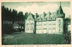 AK / Ansichtskarte Lacaune_les_Bains Chateau de Calmels Schloss Lacaune_les_Bains