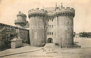 AK / Ansichtskarte Alencon Chateau des Ducs d Alencon Schloss Alencon