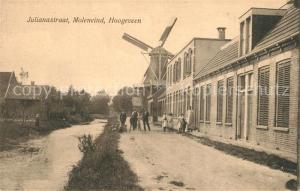 AK / Ansichtskarte Moleneind Julianastraat Hoogeven Windm?hle Moleneind