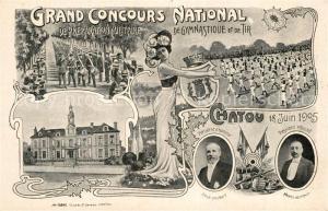 AK / Ansichtskarte Chatou Grand Concours National Chatou