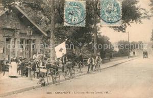 AK / Ansichtskarte Champigny sur Marne Grande Rue au Coteau Champigny sur Marne