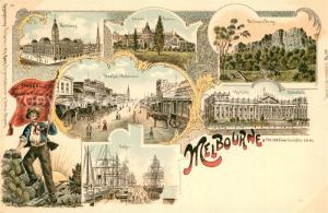 AK / Ansichtskarte Melbourne_Victoria Port Nationalmuseum Melbourne Victoria