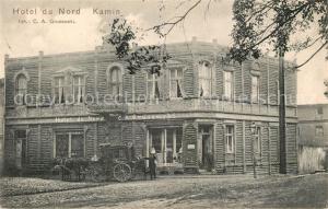 AK / Ansichtskarte Kamin Hotel du Nord Kamin