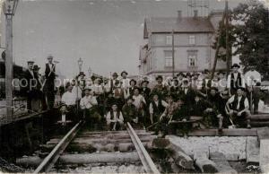 AK / Ansichtskarte Siegmar Schoenau Bahnarbeiter Siegmar Schoenau