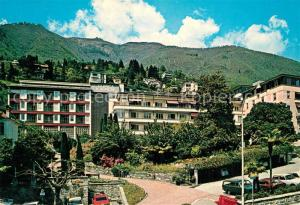 AK / Ansichtskarte Muralto_Lago_Maggiore Clinica Sant Agnese Muralto_Lago_Maggiore