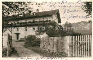 AK / Ansichtskarte Grafenaschau Lindenhof Erholungsheim der Inneren Mission Grafenaschau
