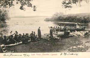 AK / Ansichtskarte Entebbe_Uganda Lake Ferry Entebbe Uganda