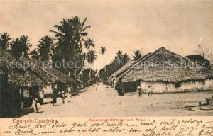 AK / Ansichtskarte Pugu_Deutsch Ostafrika Karawanen Strasse Deutsch Ostafrika