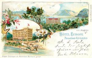 AK / Ansichtskarte Paradiso_TI Hotel Europe Paradiso TI