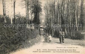 AK / Ansichtskarte Pont_de_Briques La Descente de Saint Etienne