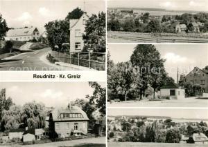 AK / Ansichtskarte Reudnitz_Mohlsdorf Teilansichten Panorama Reudnitz Mohlsdorf