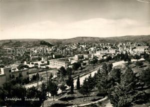 AK / Ansichtskarte Nuoro Viale S Onofrio e panorama parziale Nuoro
