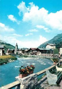 AK / Ansichtskarte Lech_Vorarlberg Teilansicht Lech Vorarlberg