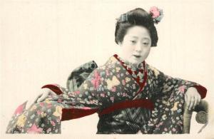 AK / Ansichtskarte Geisha  Geisha