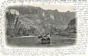 AK / Ansichtskarte Gorges_du_Tarn Descente sous la Malene Gorges_du_Tarn