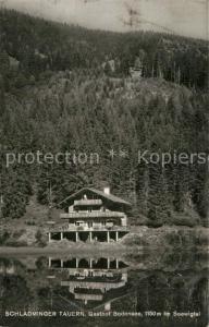 AK / Ansichtskarte Seewigtale Schladminger Tauern Gasthof Bodensee im Seewigtal Seewigtale