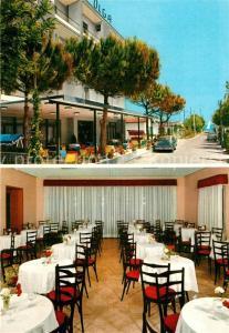 AK / Ansichtskarte Riccione Hotel Olga Speisesaal Riccione
