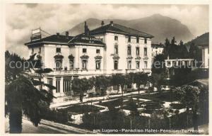 AK / Ansichtskarte Paradiso_TI Hotel Pension Terrasse Paradiso TI