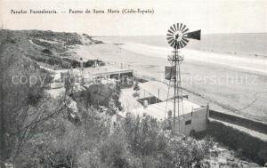 AK / Ansichtskarte Puerto_de_Santa_Maria Parador Fuentebravia Playa Puerto_de_Santa_Maria