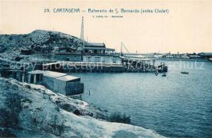 AK / Ansichtskarte Cartagena_Murcia Balneario de San Bernardo Cartagena Murcia