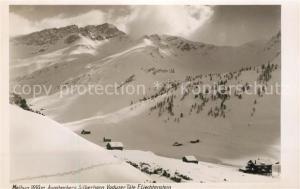 AK / Ansichtskarte Malbun Winterpanorama Augstenberg Silberhorn Vaduzer Taele Malbun