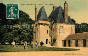 AK / Ansichtskarte Les_Rouges_Terres Chateau Schloss Les_Rouges_Terres