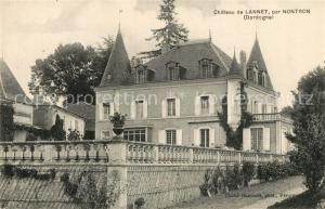 AK / Ansichtskarte Nontron Chateau de Lannet Schloss Nontron