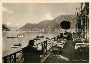 AK / Ansichtskarte Paradiso_TI Hotel du Lac Seehof Terrasse Paradiso TI