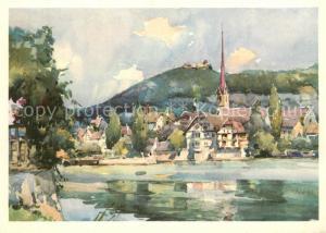 AK / Ansichtskarte Stein_Rhein Kuenstlerkarte Stein Rhein