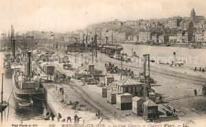AK / Ansichtskarte Boulogne sur Mer Quai Chanzy Port Bateaux Boulogne sur Mer