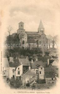 AK / Ansichtskarte Chatillon sur Seine Eglise Saint Vorles Chatillon sur Seine