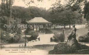 AK / Ansichtskarte Paris Parc Montsouris Kiosque a Musique Paris