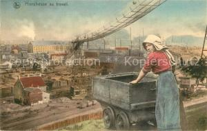 AK / Ansichtskarte Tagebau_Daylight_Mining Hiercheuse au Travail Brussels