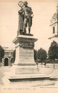 AK / Ansichtskarte Dax_Landes La Statue de Borda Monument Dax_Landes