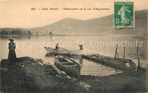 AK / Ansichtskarte Lepin le Lac Embarcad?re sur le Lac d`Aiguebelette Lepin le Lac