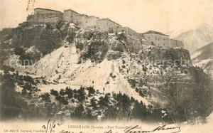 AK / Ansichtskarte Torino Lesseillon Fort Victor Emmanuel Torino