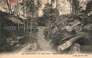 AK / Ansichtskarte Marlotte_Bourron Le Long Focher Descente du Montoir Marlotte Bourron