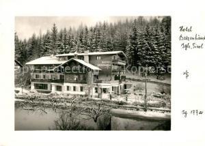AK / Ansichtskarte Igls_Tirol Hotel Batzenh?usl  Igls_Tirol
