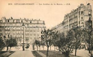 AK / Ansichtskarte Levallois Perret Jardins de la Mairie Levallois Perret