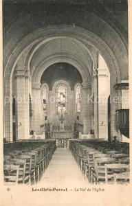AK / Ansichtskarte Levallois Perret Eglise Levallois Perret