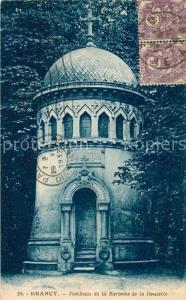 AK / Ansichtskarte Drancy_Seine Saint Denis Tombeau de la Baronne de la Doucette Drancy Seine Saint Denis